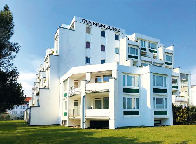 Wir verwalten aktuell ca. 1.200 Wohnungen wie hier in der »Tannenburg« in Grömitz