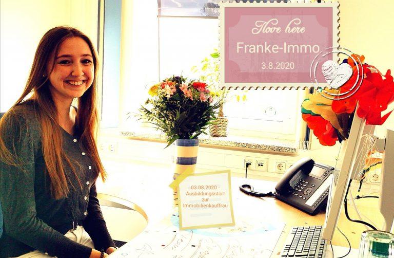 Unsere neue Auszubildende zur Immobilienkauffrau: Sophie Möller