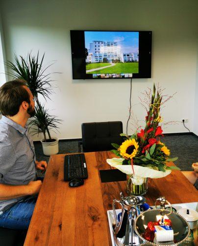 Startklar für Videokonferenzen