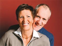 Der Gründer Wolfgang Franke mit seiner Ehefrau Waltraut, die seit 2003 das Unternehmen mit führt